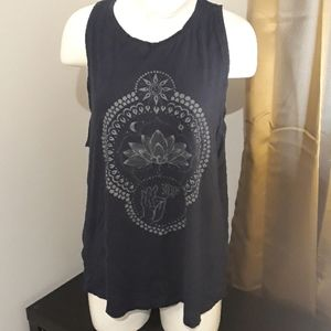 Lucky Brand New Without Tags Navy Tee Size XL
